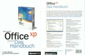 """""""Office XP - Das Handbuch"""", deutsche Ausgabe, eine Auftragsarbeit für Microsoft"""