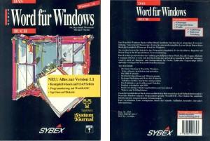 """""""Das Word für Windows Buch"""", deutsche Ausgabe, mit Programmierteil zur Office-Automation mit WordBasic"""