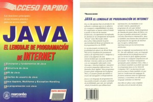 """""""Java el lenguaje de Internet"""" , spanische Ausgabe, Auskopplung aus unserem Buch """"Internet Interno"""" für den lateinamerikansichen Markt"""